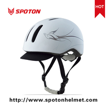 Selling Well Ladies Unique Commuter Casual In Mold Electrical Riding Helmet