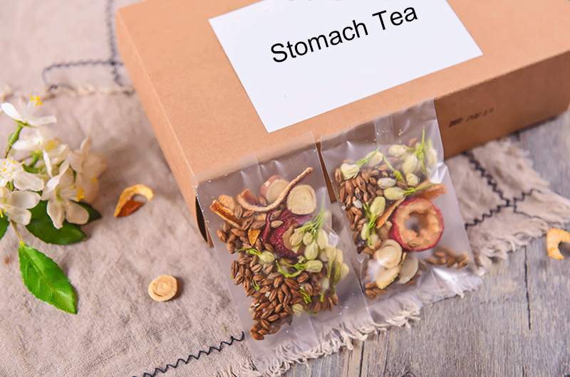 Dried Health Herb Blended Tea Stomach Tea Bags with Customization