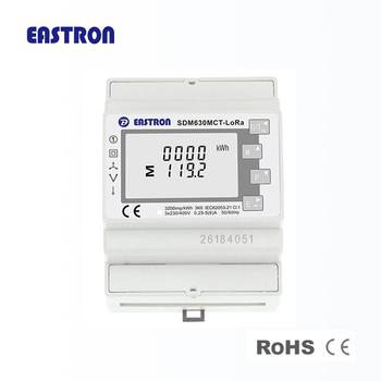 SDM630MCT-LoRa Three Phase LoRa Wireless Communication Energy Meter, View  LoRA communication energy meter, EASTRON Product Details from Zhejiang