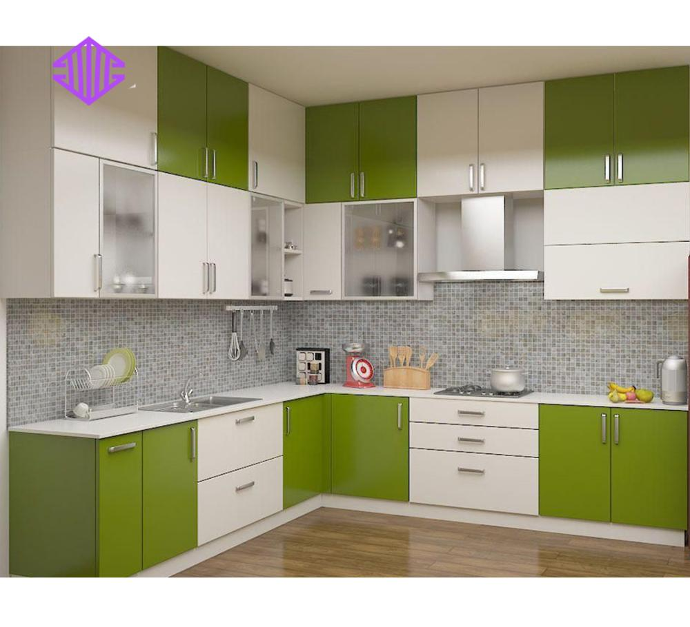2018 Hot Kitchen Furniture customize Integrated Kitchen Cabinet design for sale
