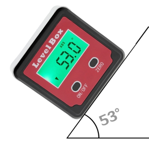 Red LED Precision Digital Protractor inclinometer Level box Digital Angle Finder Bevel Box Electronic Measuring Instruments
