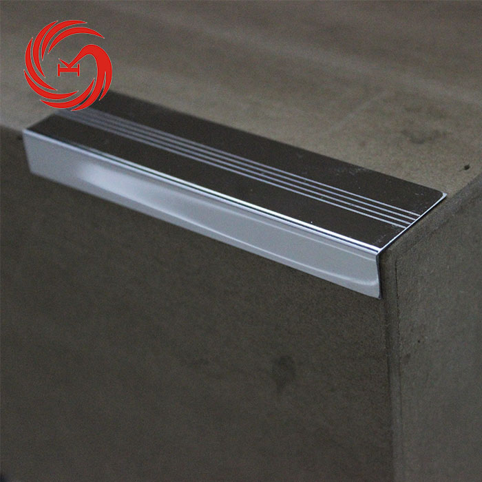 Durable Stainless Steel Metal Stair Nosing Tile Trim Porcelain Tile Stair  Nosing Protective Trim