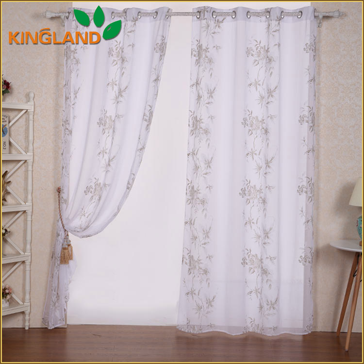 China manufacturer supply printed draperies and curtains