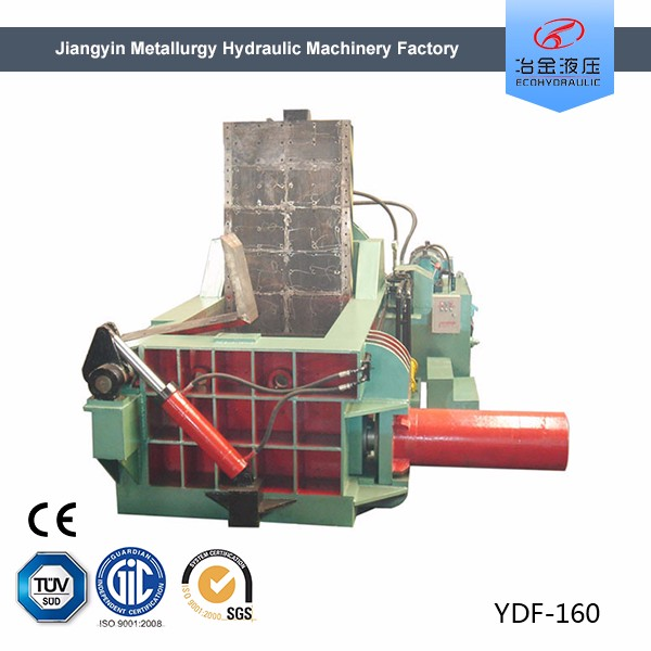 processing heavy scrap metal baler for sale
