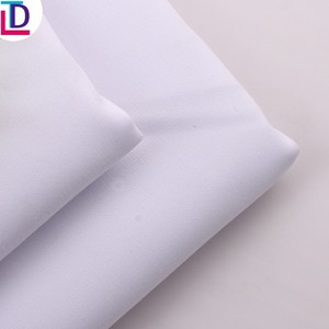 China Factory 100% Polyester Woven Brushed Fabric for interlining