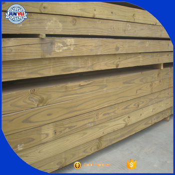Finished Preservative Wood Lumber