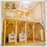 Whole set 100T/D Wheat flour machinery