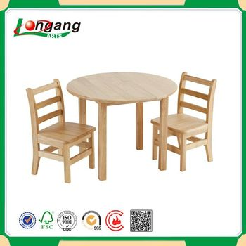 Mdf Children Table And Solid Wood Chairs Buy