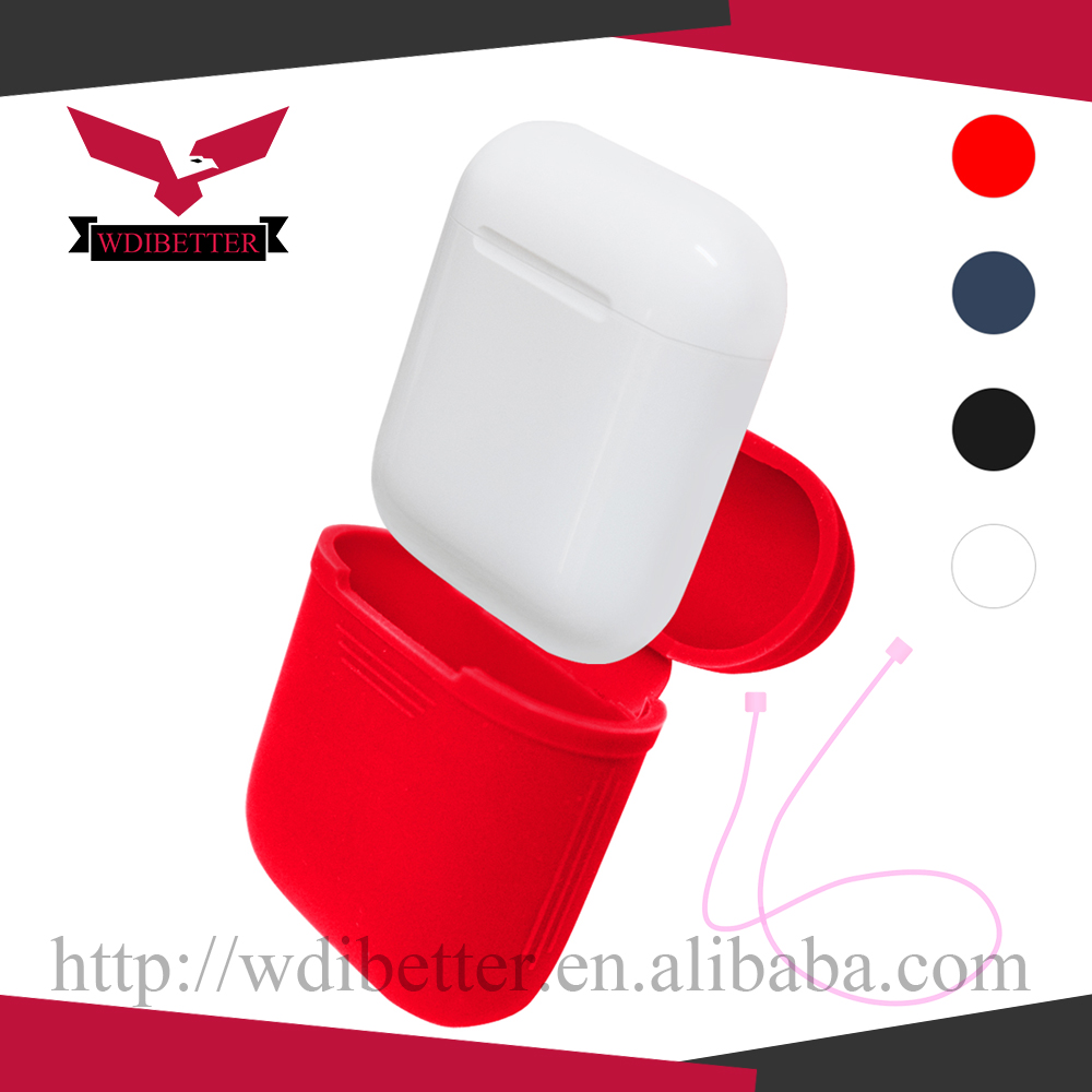 AirPods Case Silicone ShockProof Protective Carrying Bag For Wireless Headset