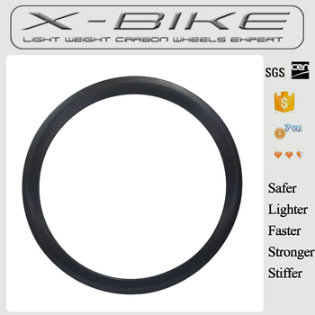 Chinese 310g Tubular 46mm Carbon Road Bike Wheel Carbon Rim With UD 3K Weave