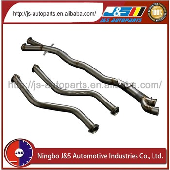 Titanium Exhaust Down Pipe And Center Pipe For Bmw E46 M3