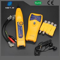 Portable 4 Wire Measurement Network Cable Harness Tester