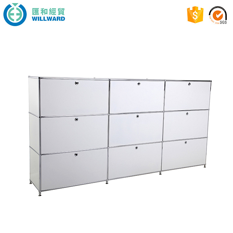 Factory price office equipment 9 steel drawer file <strong>cabinet</strong>