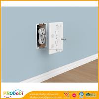 Magnetic Electric Socket Outlet 3 Plug Safe Cover Baby Children Kids Protector
