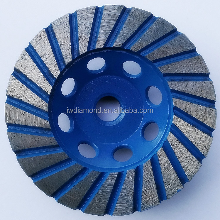 New Turbo Continuous Rim Diamond Grinding Cutting Wheel For Concrete