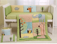 100% Cotton Nice Ladybug Embroidery Baby Bedding Set