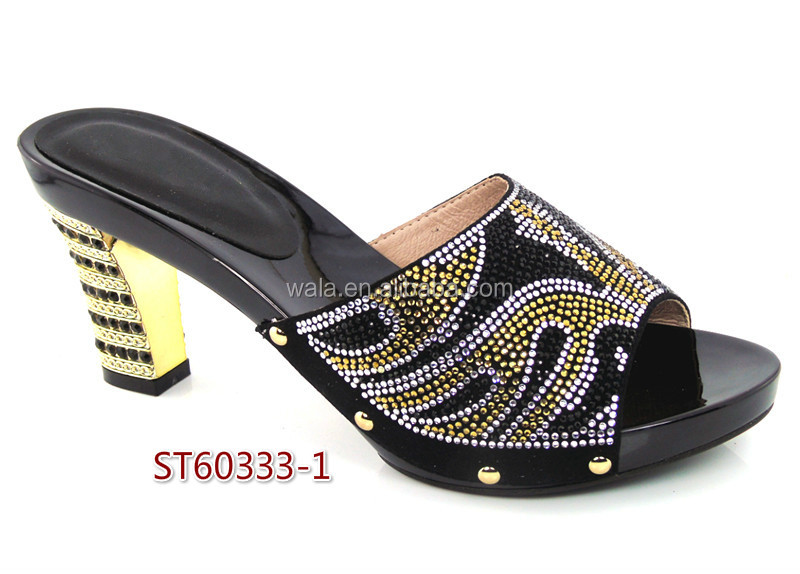 ST60333 set 1 shoes arrival italian quality high women black New high for heel 2016 aaqPwr