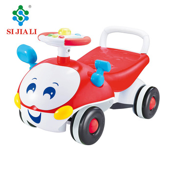 5fd072890f8c Lovely Cartoon Beetle Freewheel Ride On Car Baby Walker With Music ...