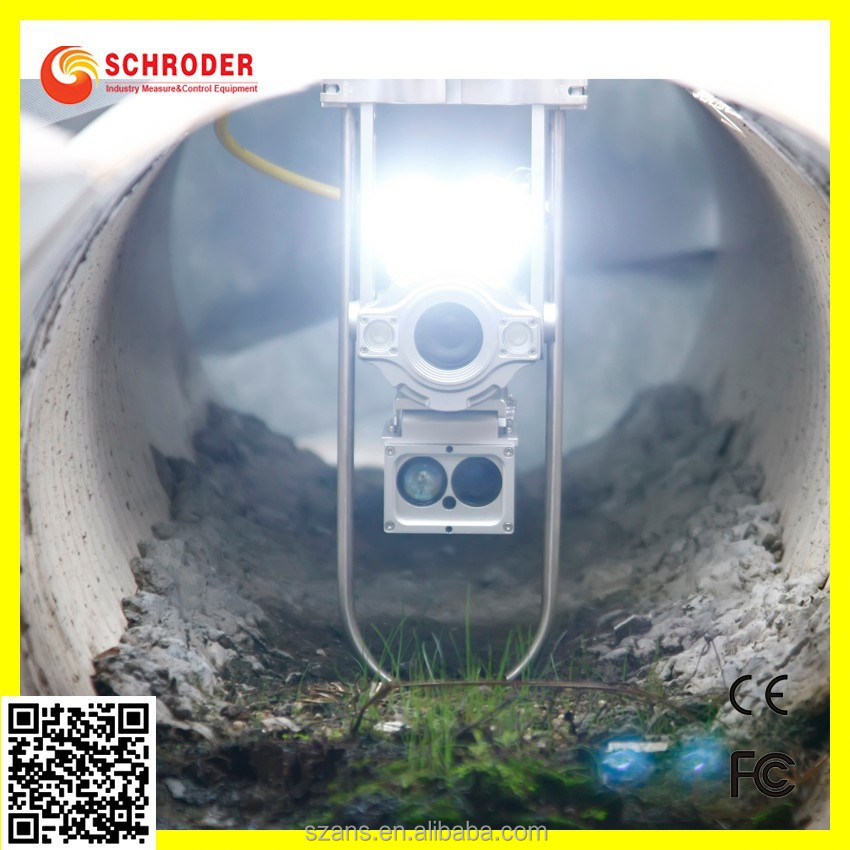 DUCT CHIMNEY DV CAM MANHOLE INSPECTION CAMERA WHITE CONTROLLABLE LED LIGHTS