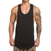 New Design Manufacture sleeveless bodybuilding fitness tank top men
