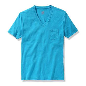 Men S Slub Knit Jersey V Neck Pocket Tee Buy V Neck Pocket Tee V Neck Slub Tee Men Pocket Tee Product On Alibaba Com