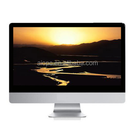 27 inch aio pc manufacturer hardware computer speaker oem all in one touch screen pc