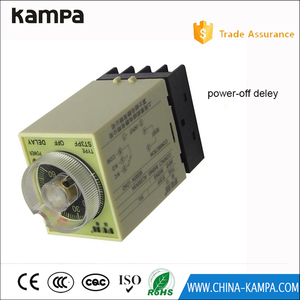 time relay range 0-3 mins 24VAC ST3PF Power off delay timer with PF083A Socket Base
