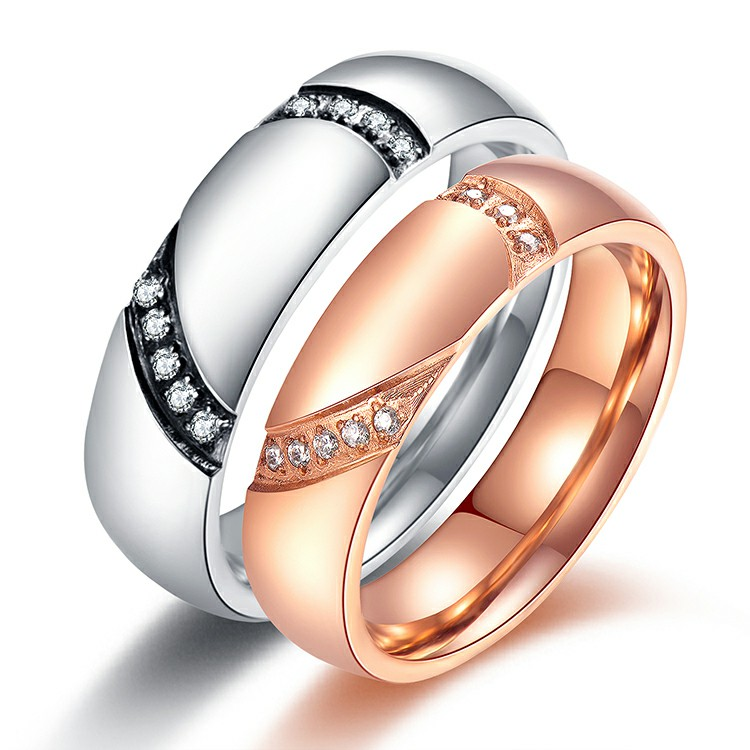 Marlary Jewelry Personalized Matching Beautiful Engagement Ring Diamond Gold Cheap Wedding Rings