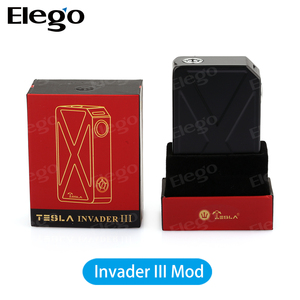 2016 China Wholesale Tesla Invader iii 240W Box Mod Invader 3 Electronic Cigarette Vape Mods with fast shipping and best service