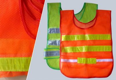 10 шт. / lot высокая видимость предупреждение отражающий безопасный жилет отражающий куртка рабочий жилет