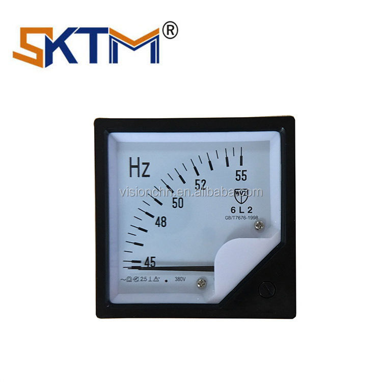 VISION Digital Panel Frequency Meter 6L2 Hz Meter