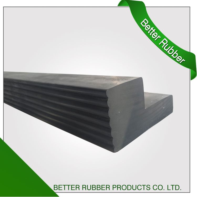 Customized aging resistant extrusion and drill holes rubber 90Sh EPDM strip