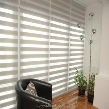 New Design Double Color Zebra Curtains