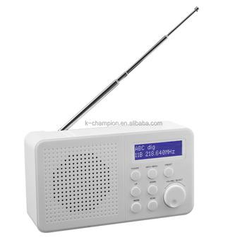 Portable Fm Dab Digital Radio Rds Display 4xaa Battery - Buy Digital ...