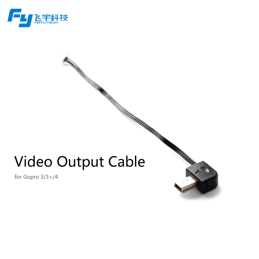 Feiyu FY G4 gimbal Video Output Cable for Go pro 3,3+,4/fy G4 accessory/go pro video output