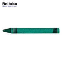 Reliabo Chinese Factory Wholesale Easy Writing Logo Printed Custom Colors Wax Crayon