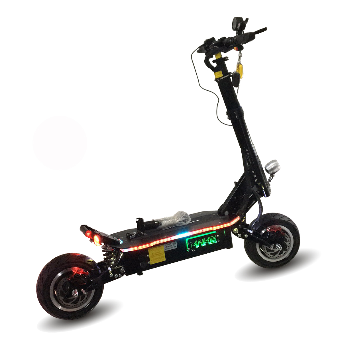 New arrival long range 11 inch fat tire dual motor 5000w electric scooter for adults