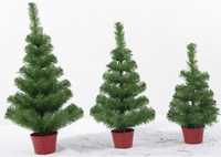 Best seller Luxurious decorative Christmas Tree wholesale customized artificial PVC christmas tree