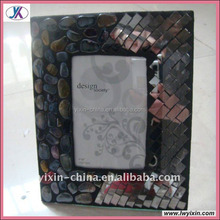 New Design Mosaic Glass Hoarding Photo Frames11/Home decoration mosaic frame