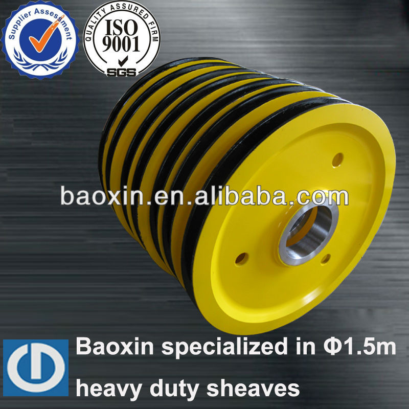 Heavy Duty Sheaves,Wire Rope Sheaves For Mining Machines,Hoisting ...