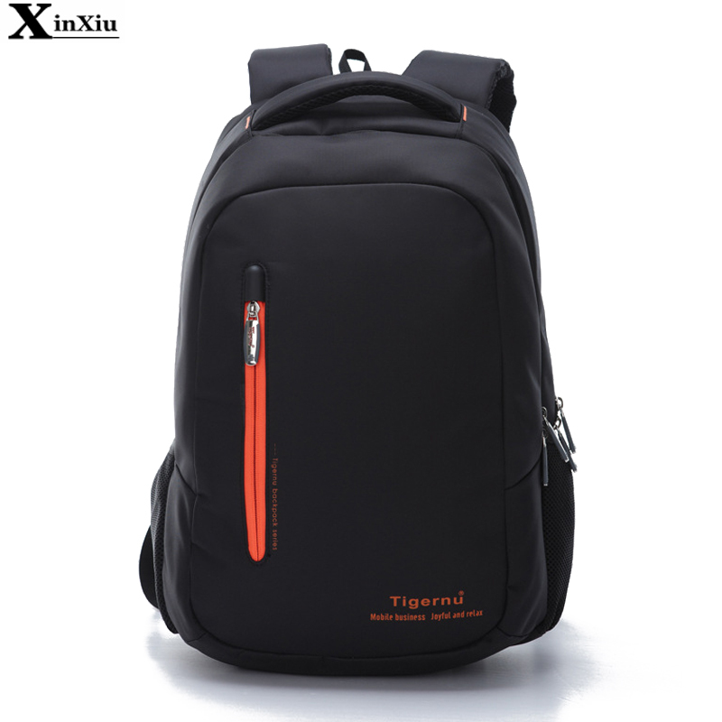 New Quality Nylon Waterproof Women Backpack Business Men's Backpacks 15.6 In Laptop Backpack Daily School Bags For Teenagers