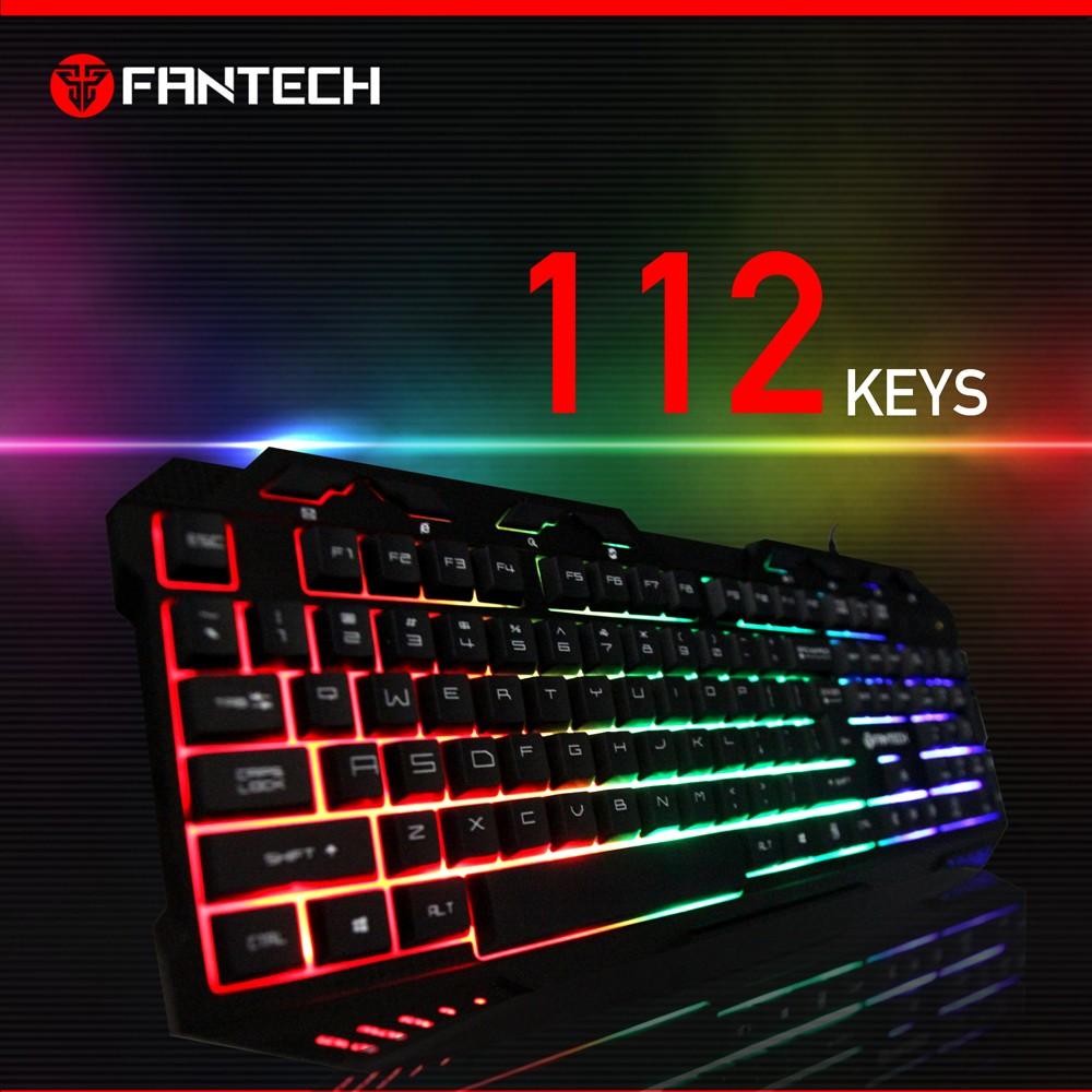 Fantech K10 Hochwertige billige Tastatur-Gaming-LED-Hintergrundbeleuchtung OEM-Gaming-Tastatur für Gamer