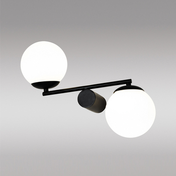 Decorative Wall Light Aluminium Glass Round Up Down Ball Shape Led ...