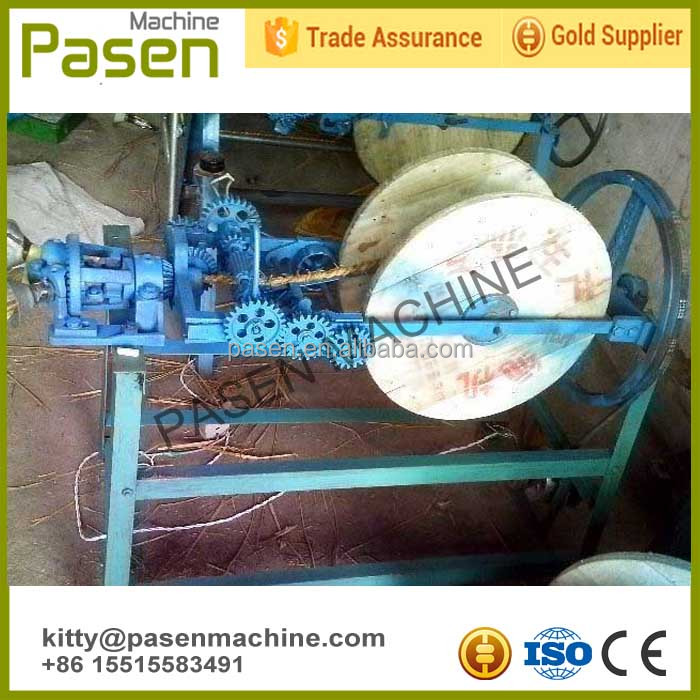 Large supply Grass/rice/wheat/<strong>corn</strong> stalk straw rope making machine
