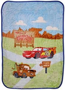 Disney Cars Luxury Plush Blanket - Radiator Springs