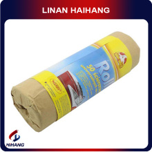 Hot sale non woven bamboo cleaning fabric roll of Eco-friendly Kraft paper packaging