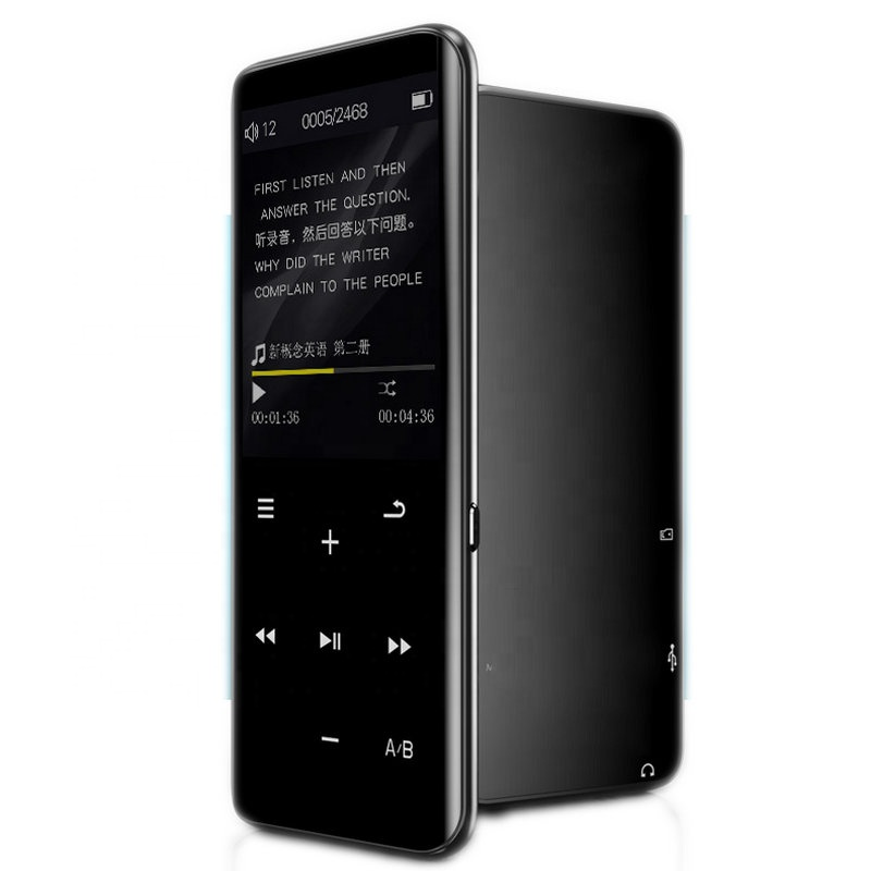X5 2019 New Touch Screen FM Radio Music HIFI MP3 MP4 <strong>Player</strong> Audio Record Voice Recorder MP4 Film Video USB MP3 <strong>Player</strong>