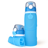 Free Sample Bpa Free Silicon Custom Collapsible Sport Water Bottle Wholesale Manufacturer