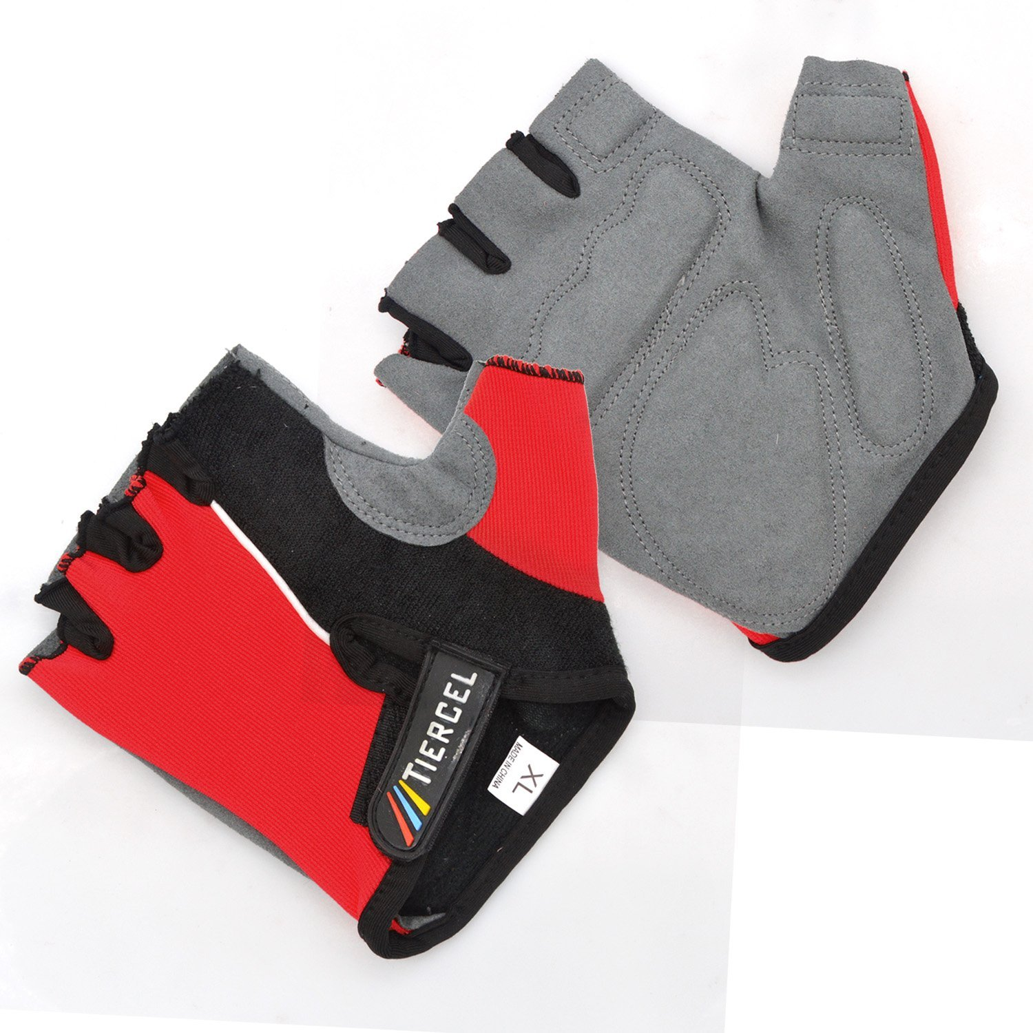 Cycling Gloves/Exercise Gloves/Riding Gloves,Freehawk®Summer Sport Half Finger Gloves/Anti-slip Anti-shock Cycling Motorcycle Gloves/Race Gloves/Outdoor Sport Bicycle Racing Mitten for Men/Women