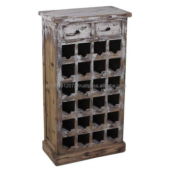 Wine Cabinet Made In Reclaimed Wood